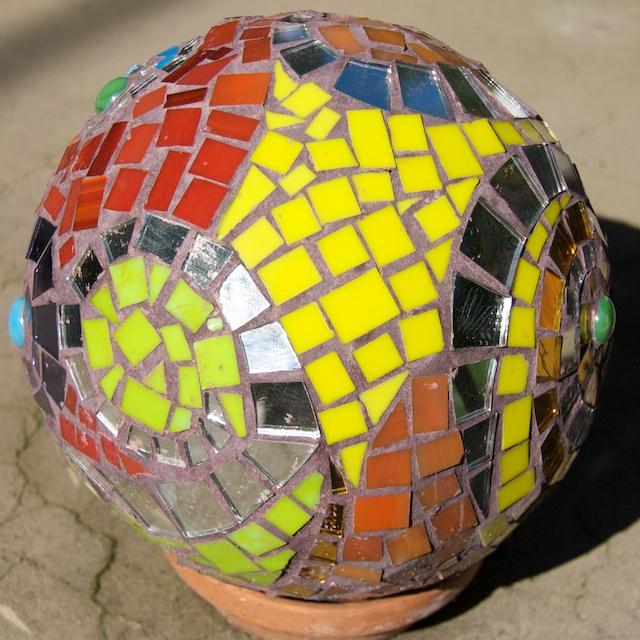 Mosaic Ball, Mirror Ball