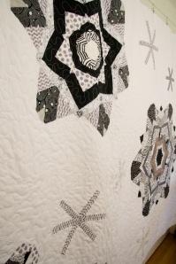 Kaleidoscope Snowflake Quilt