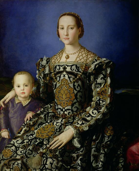 Portrait of Eleanor of Toledo and her Son, Giovanni de Medici