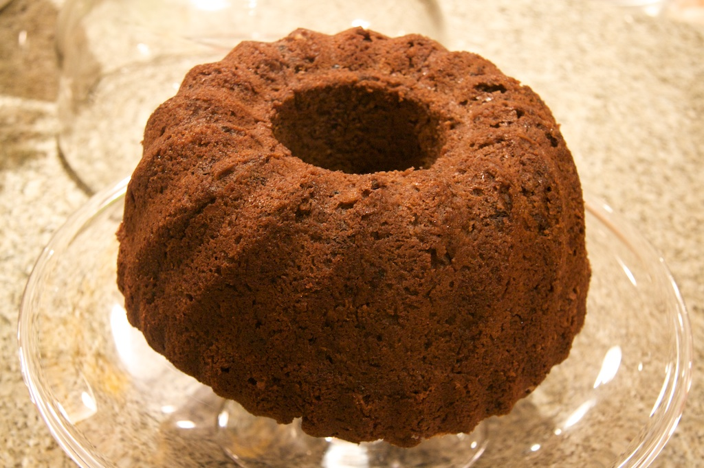 Chocolate Bundt Cake with Sticky Chocolate Icing – A Recipe ...