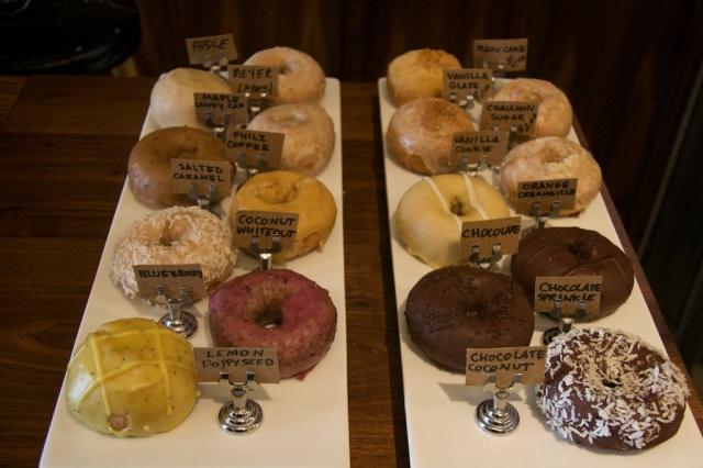 donuts, Pepple's, Vegan donuts