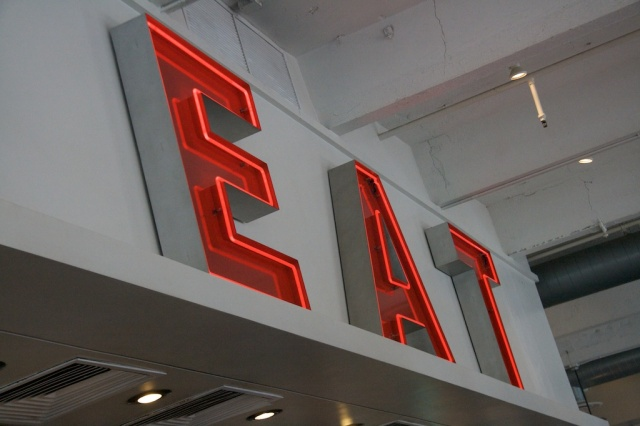 Gott's, Eat, Food, Neon Sign