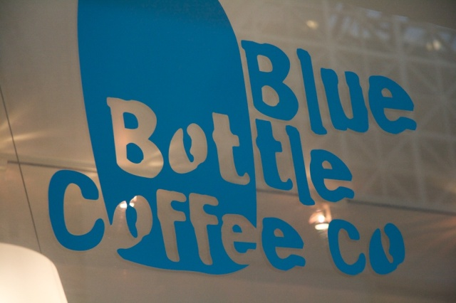 Blue Bottle Coffee Sign