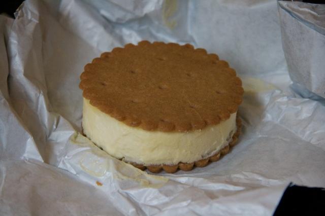 creme fraiche ice cream sandwich, Miette