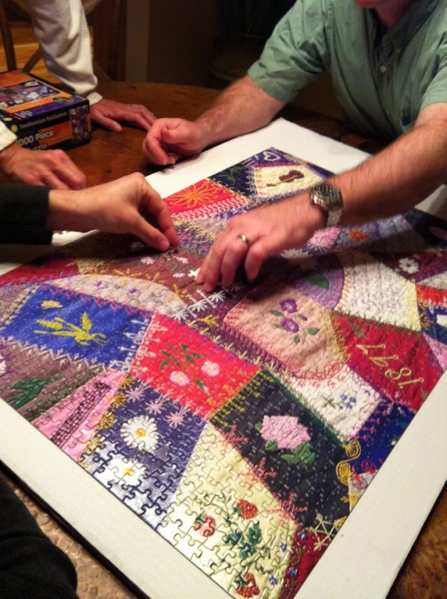 jigsaw, puzzle, crazy quilt,