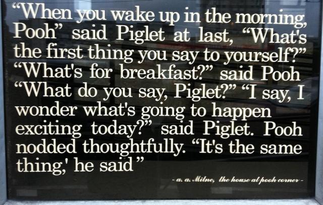 Pooh, Piglet