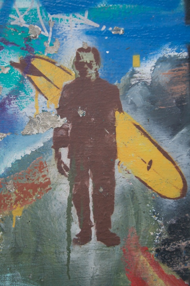 Frankenstein, Graffiti, Surfer Frankenstein
