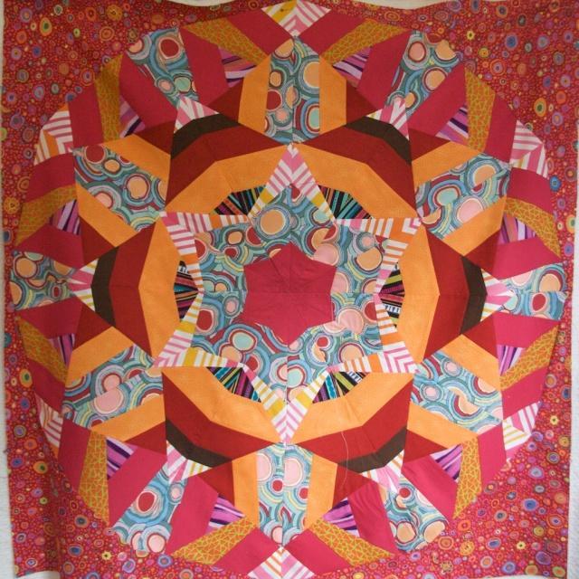 Kaleidoscope piecing