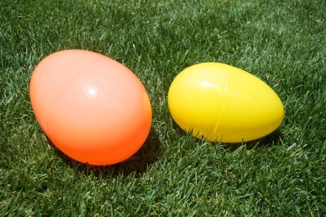 Eggs, Plastic, Easter eggs
