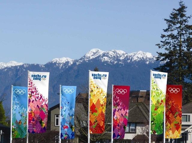 Russia Olympics, Sochi, patchwork