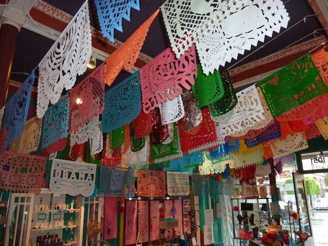 Papel Picado in the Mission
