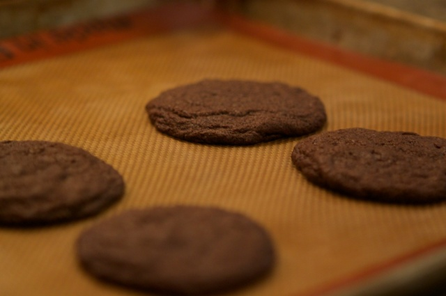 Chocolate Chocolate Chip Cookies, Cookie Sheet