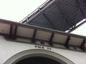 Pier 24, HERE, SF, Under the Bay Bridge, photography