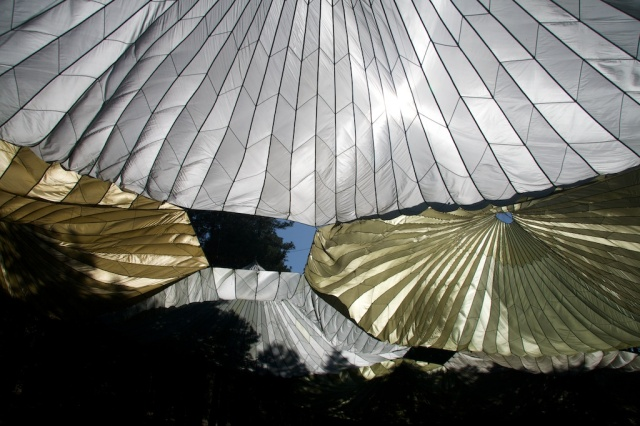 Idyllwild, theatre, lawn, parachute canopy