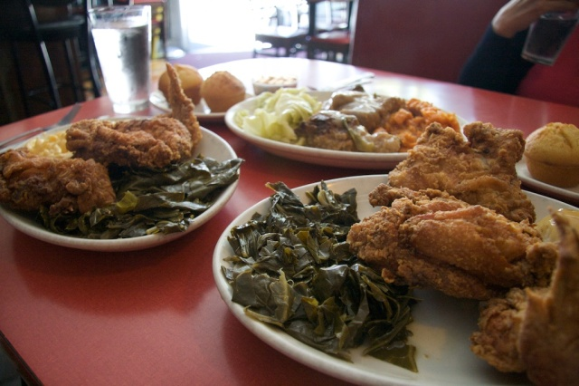 Fried and Smothered Chicken at Hard Knox
