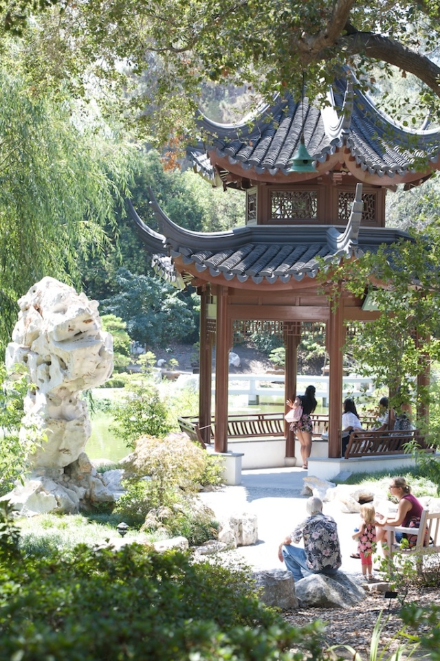 Chinese Garden Temple