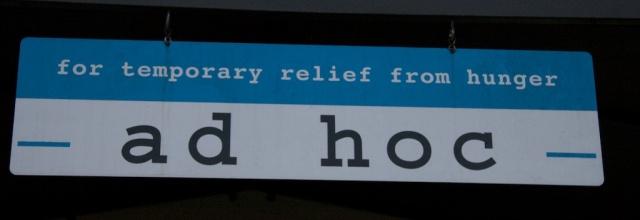 Ad Hoc Sign