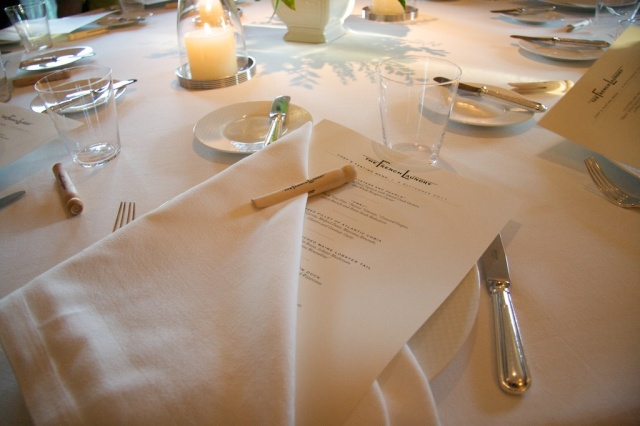 Table at the French Laundry
