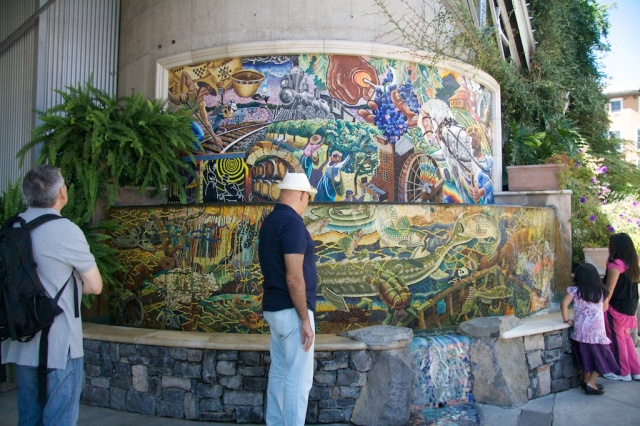 Riverfront Napa Mosaic Fountain