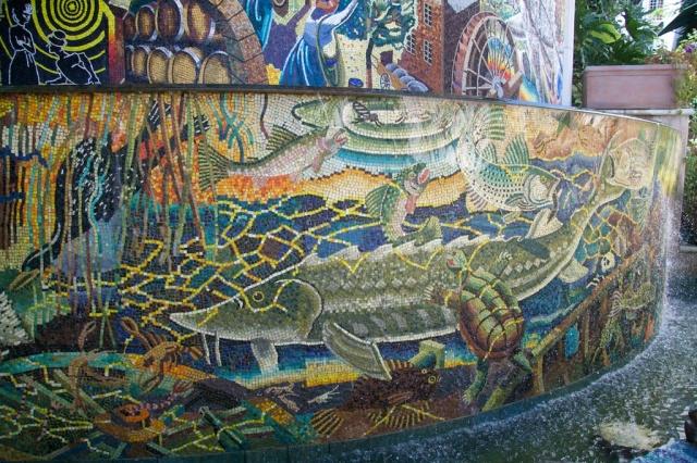 Riverfront Napa Mosaic