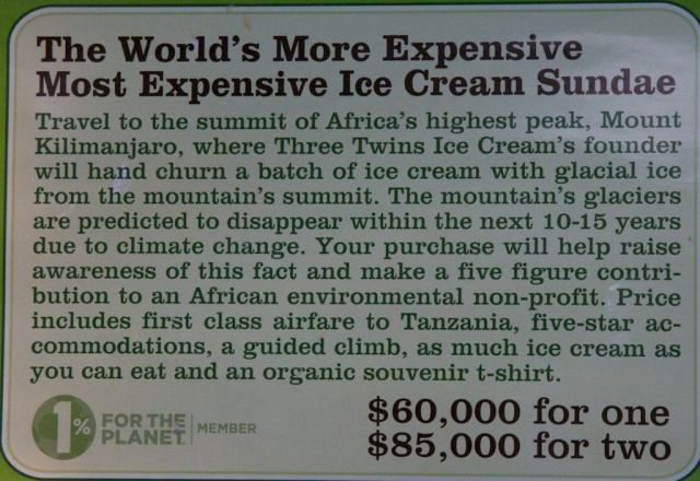 The World's More Expensive Most Expensive Ice Cream