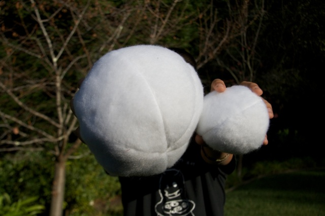 Large and Small Snowballs