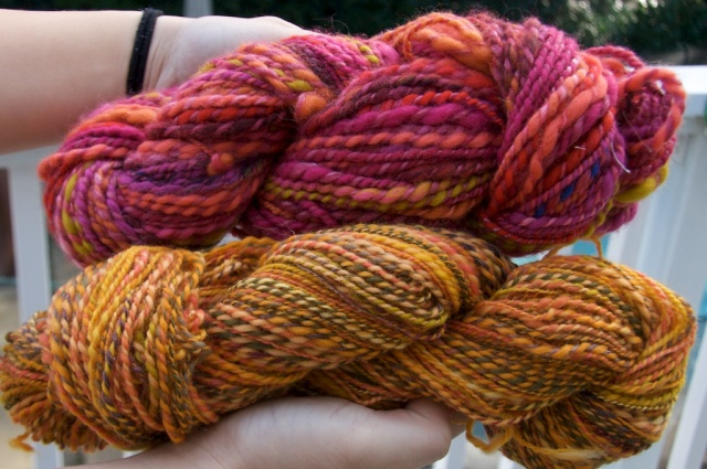 Spun Plied Yarn