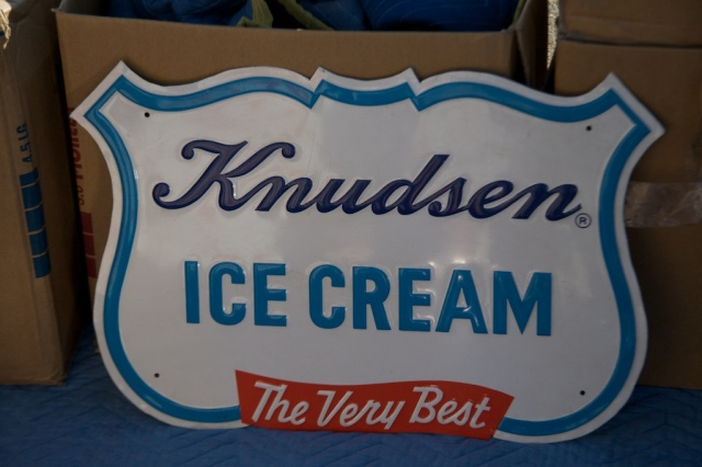 Knudsen Ice Cream Sign