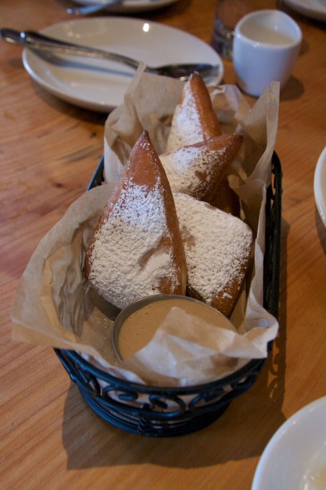 Beignets at The Boxing Room