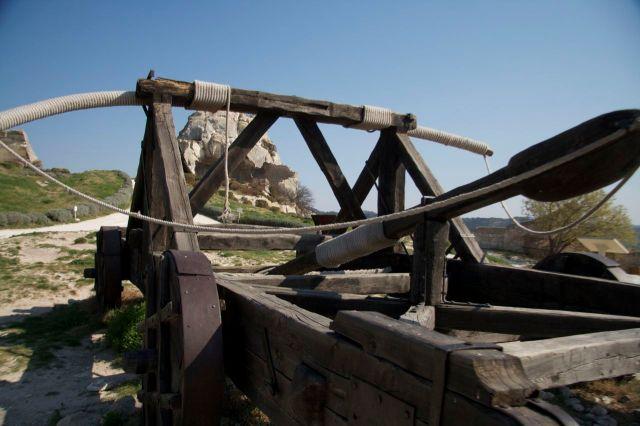 Les Baux en Provence Catapult