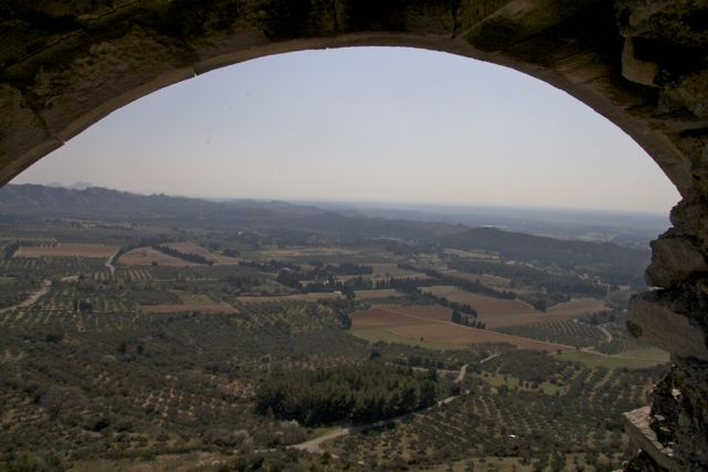 The view from Les Baux, Provence