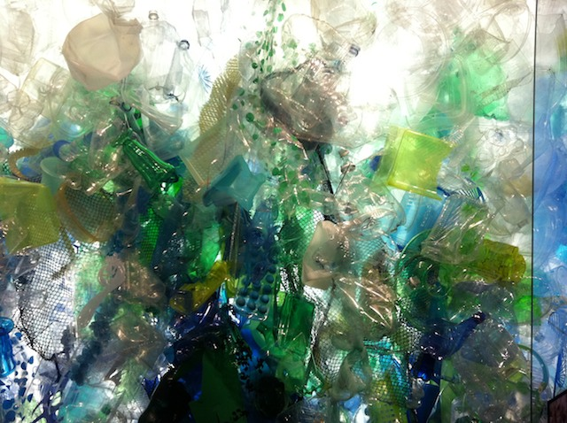Plastic at the Monterey Bay Aquarium