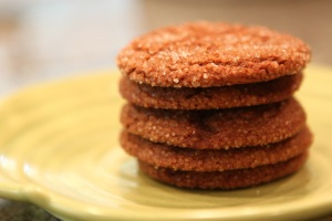 Spice cookie stack