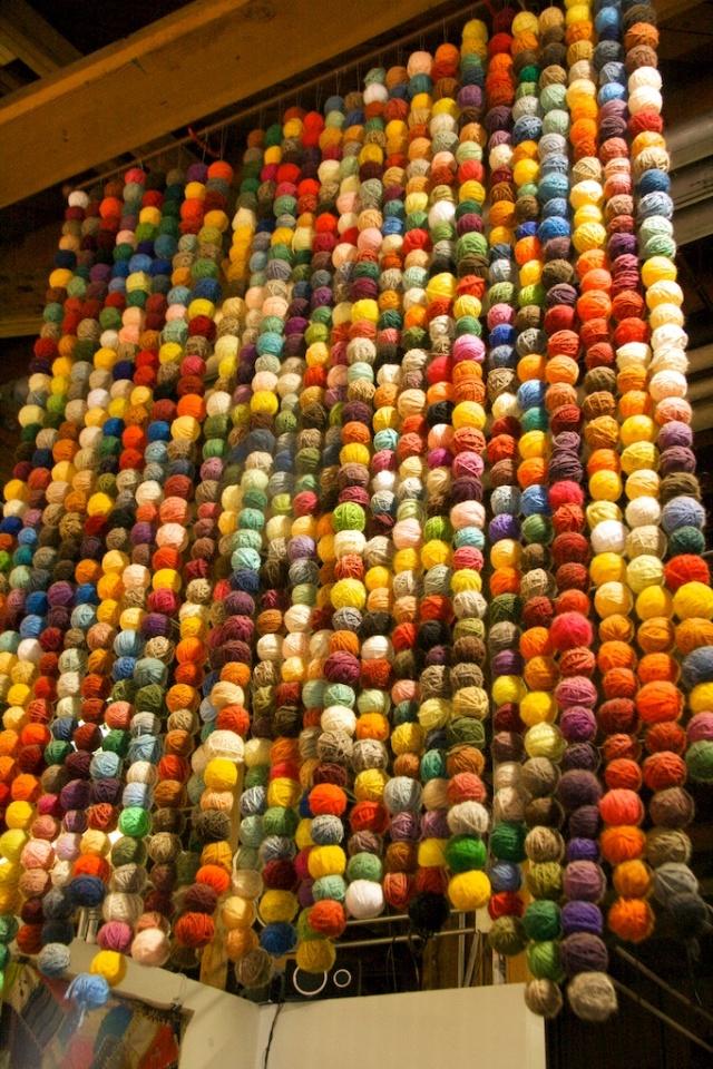 Yarn Balls at SCRAP