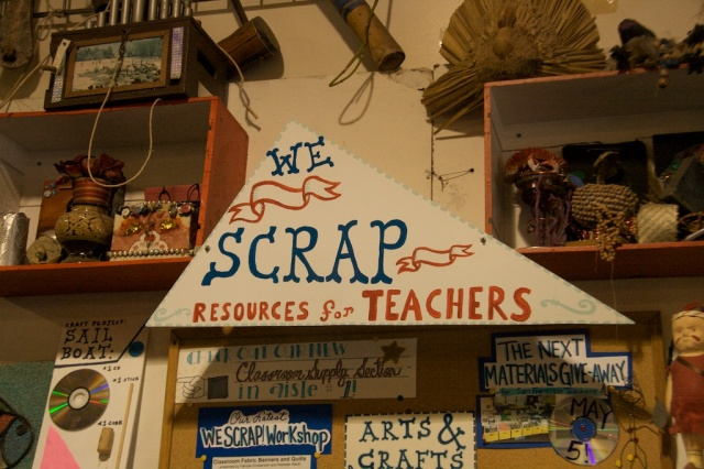 Teachers at SCRAP