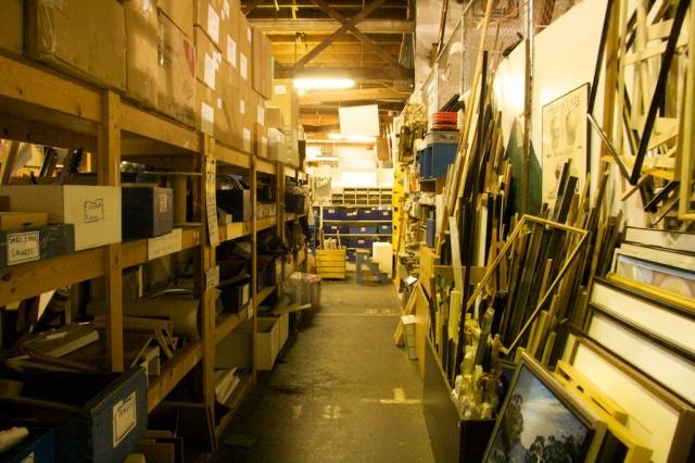 SCRAP aisle