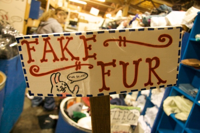 Fake Fur at SCRAP