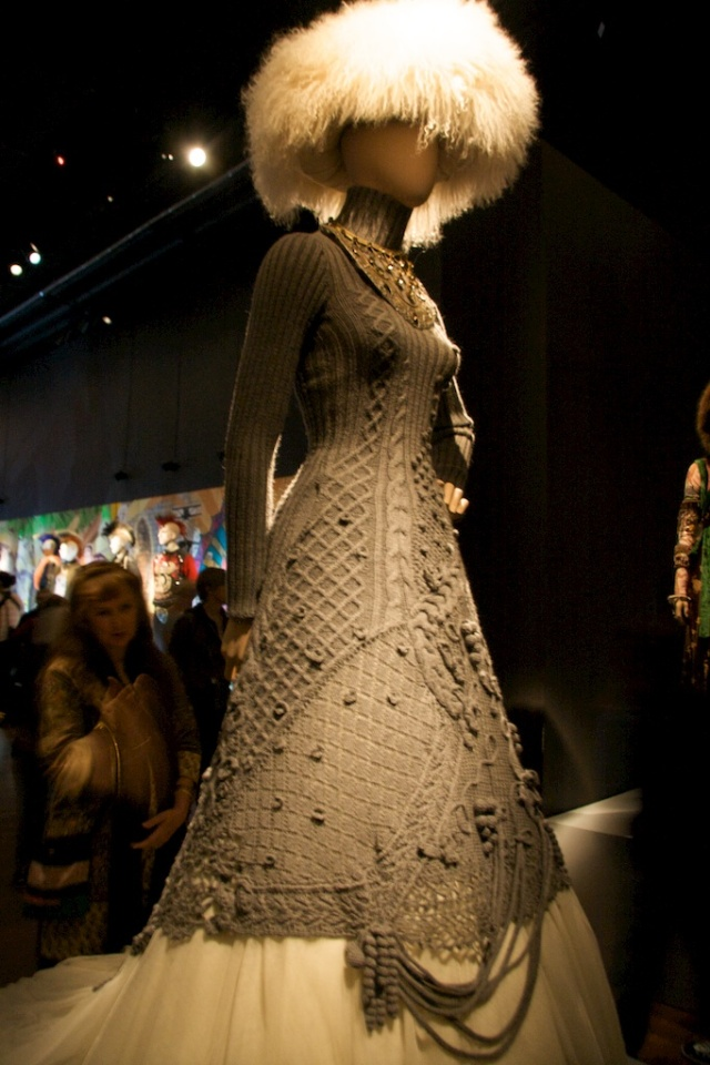 Knit Dress Gaultier