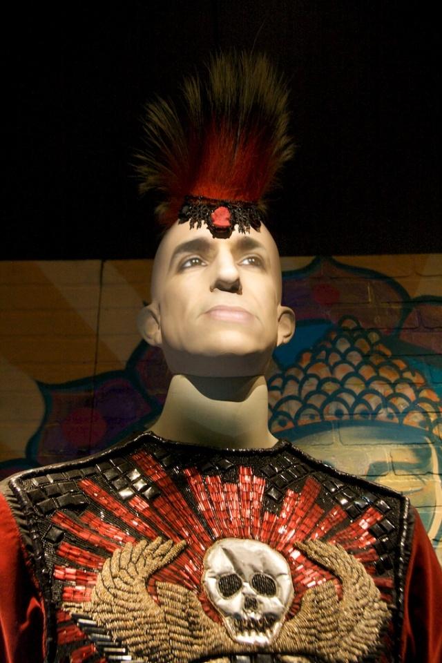 Mohawk Mannequin Gaultier