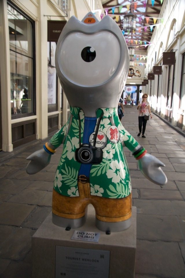 Tourist Wenlock London Olympics