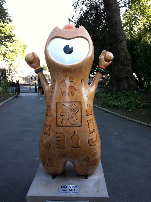 London Olympics Egyptian Wenlock