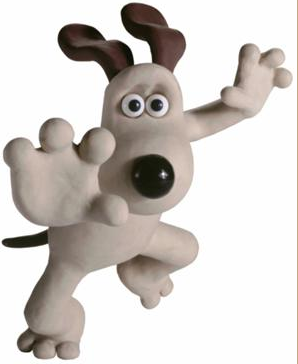 Falling Gromit