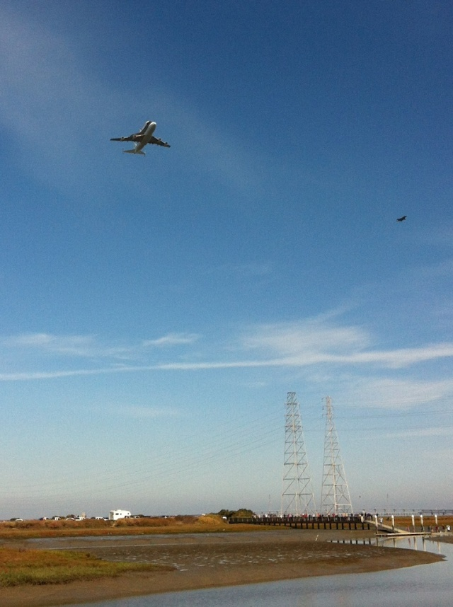 Endeavour Flyover Bay Area