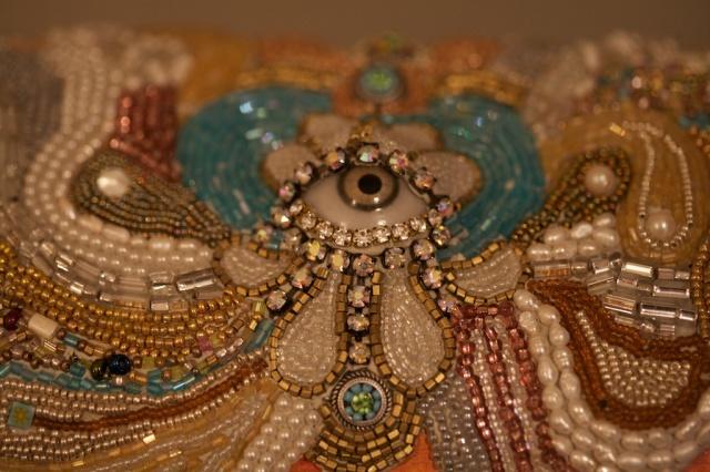 Bead Mosaic Box by Katherine England