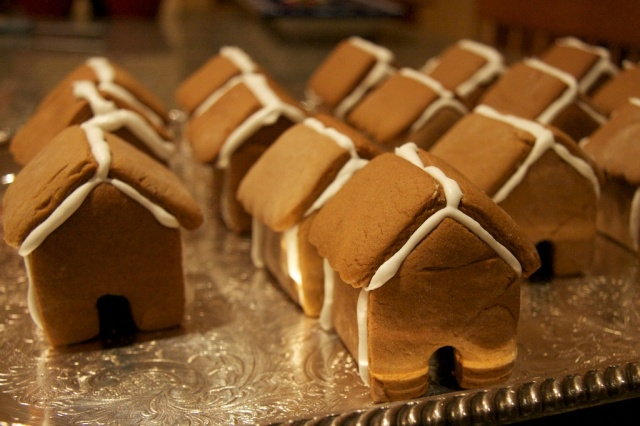 piecedgoods Gingerbread Houses