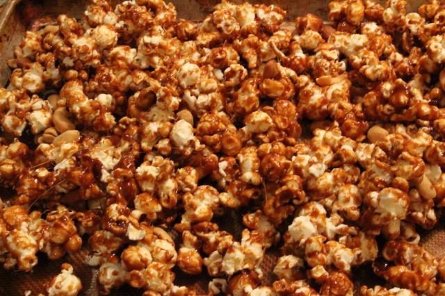 piecedgoods Caramel Corn Sheet Pan