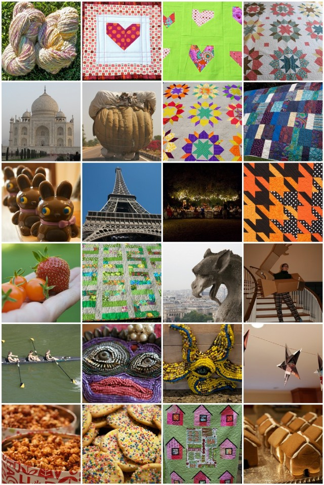 piecedgoods 2012 recap mosaic