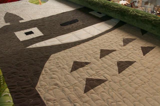 Piecedgoods Totoro Quilt
