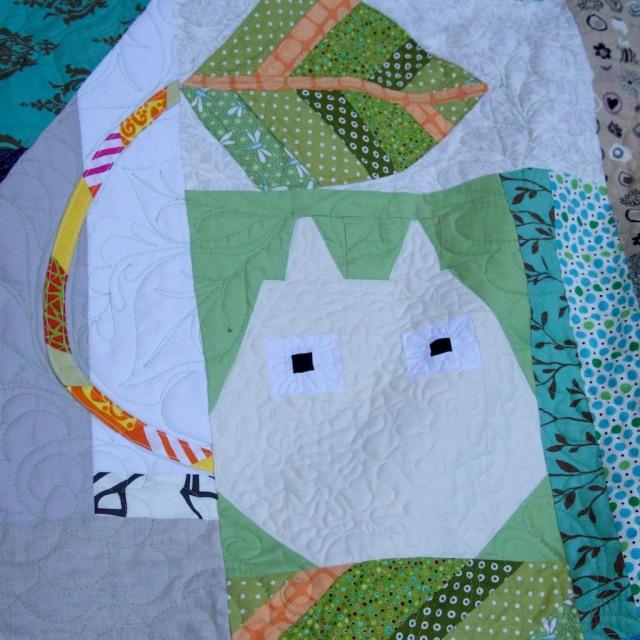 Schnap Mini Totoro Quilt