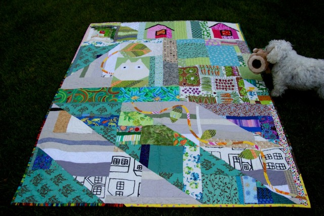 Schnap Mini Totoro Quilt  183